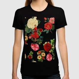 Keep it clean floral collage pink T-shirt