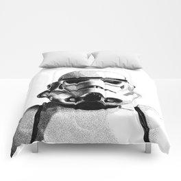 Stormtrooper Dotwork - Pointillism Fan Artwork Comforters
