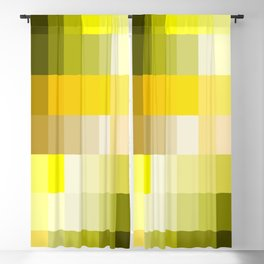 ever yellow Blackout Curtain