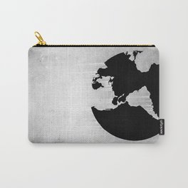 Earth B&W Carry-All Pouch