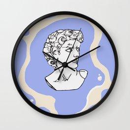 Marble man Wall Clock