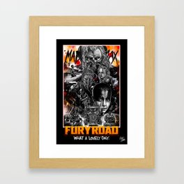 Mad Max Fury Road Framed Art Print