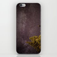 milky way iPhone & iPod Skins featuring Milky way by Simon Laroche