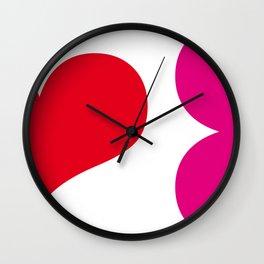 muah! Wall Clock