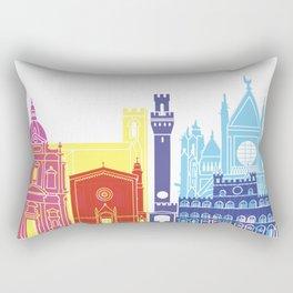 Siena skyline pop Rectangular Pillow