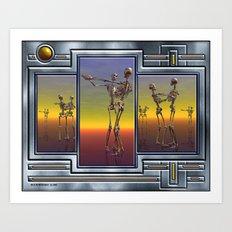 The Last Dance Art Print