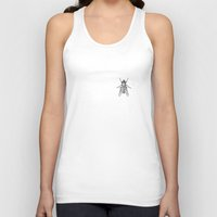 fly Tank Tops featuring Fly by Antoine