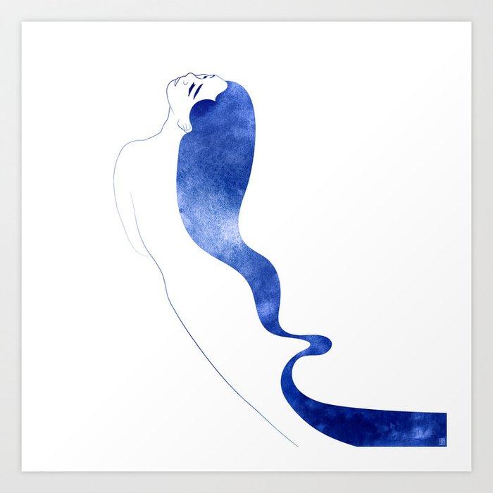 Nereid X Art Print
