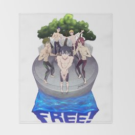 Free! Throw Blanket
