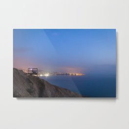 An Evening on the Coast Metal Print