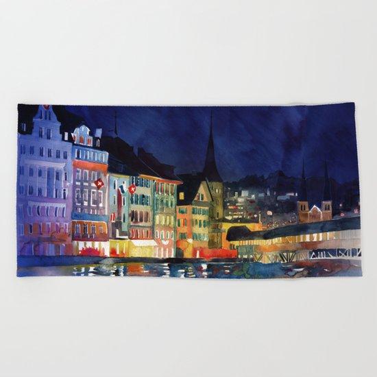 Lucerne Beach Towel