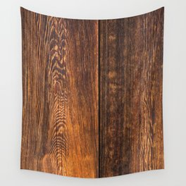 Old wood texture Wall Tapestry