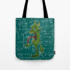 STUDY LIKE A MONSTER Tote Bag