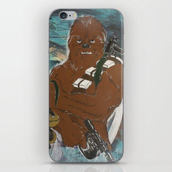 Lock and Load Chewie iPhone & iPod Skin