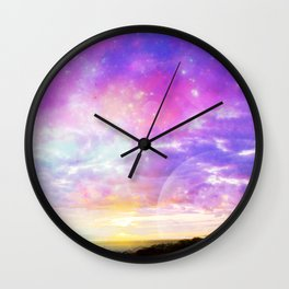 Magical Sunset  Wall Clock