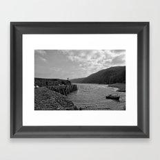 clovelly Framed Art Print