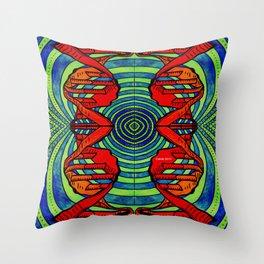 DNA #2 Throw Pillow