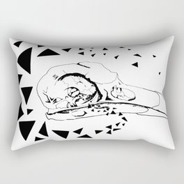 Youngbird Bird Skull Rectangular Pillow