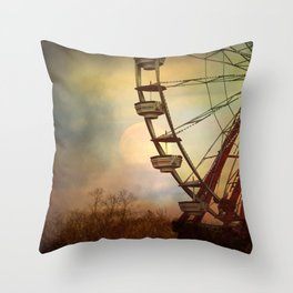 After The Thrill Is Gone Throw Pillow