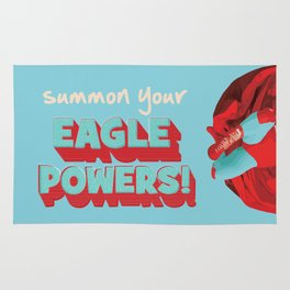 summon your eagle powers Rug