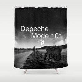 Depeche 101 Mute Promo Shower Curtain