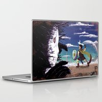 courage Laptop & iPad Skins featuring Courage by Carlos Canessa