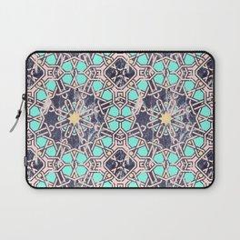 Pattern mosaic moroccan tile Laptop Sleeve