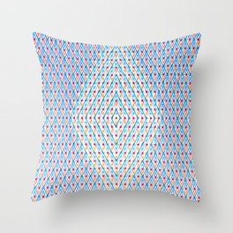 Dots and Triangles Throw Pillow