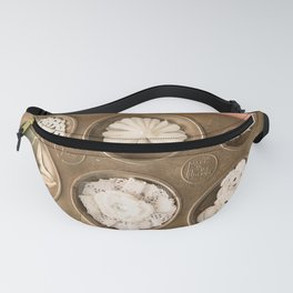 Pink and white muffin tin Fanny Pack