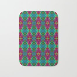 Varietile 50 (Pyramitiles 2 & 5 Repeating) Bath Mat