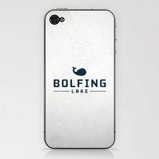 BOLFING LAKE iPhone & iPod Skin