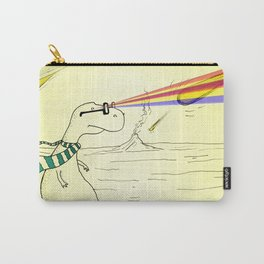 Hipster Laser Dinosaur Carry-All Pouch