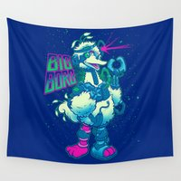 muppet Wall Tapestries featuring BIG BORG by BeastWreck