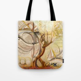 Axis Mundi V Tote Bag