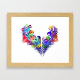 Cluvin U Framed Art Print