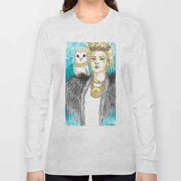 Lagertha, Warrior Queen Long Sleeve T-shirt