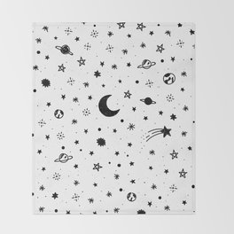 Cosmic Throw Blanket