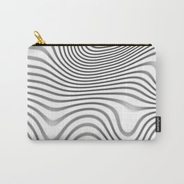 Organic Abstract 02 WHITE Carry-All Pouch