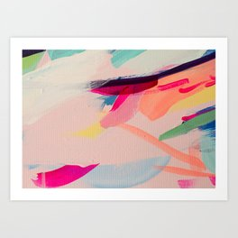 Wild Ones #2 - abstract painting Art Print