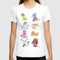 digimon T-shirts featuring Digimon Group by Catus