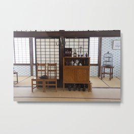 Japanese House Metal Print