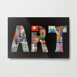 ART Metal Print
