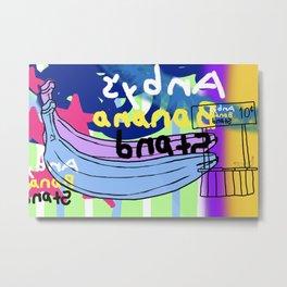 Andy's Banana Stand Metal Print