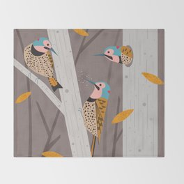 Ratta Tat Tat Throw Blanket