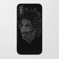 basquiat iPhone & iPod Cases featuring Basquiat by William