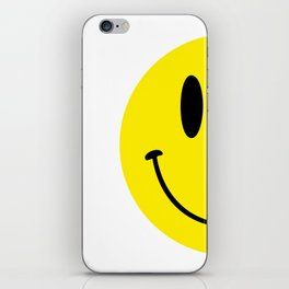 Half Smile (Right) iPhone Skin