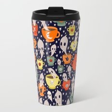 Tasseomancy Ghosts Travel Mug