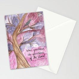 Do You Dream of Stars Stationery Cards