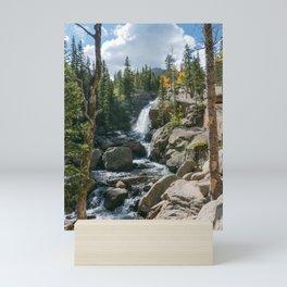 Alberta Falls Rocky Mountains Colorado, United States Mini Art Print