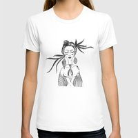 native T-shirts featuring NATIVE  by Adriana Mateus